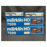 4 Marklin HO Accessories