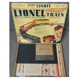 Partial Lionel 50 Paper Train