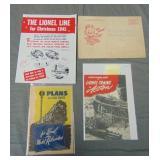 1945 Lionel Paper Archive