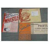 Nice 1935 Lionel Paper & Catalog Archive