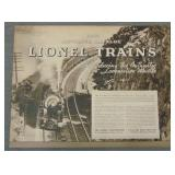 Rare 1935 Lionel Advanced Catalog