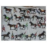 31 Modern Soldiers, Mounted with Horses