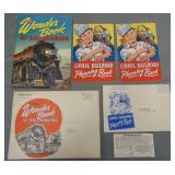 1943 & 1944 Lionel Paper Lot