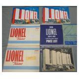 Large 1938 Lionel Paper & Catalog Archive