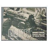 RARE Lionel 1937 Advanced Catalog