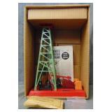 Rare Boxed Lionel 455 Oil Derrick, Mint Green