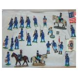 Nice Lot Black American Union Soldiers