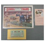 1924 Lionel Catalog & Paper Archive
