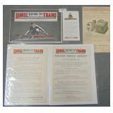 1922 Lionel Catalog & Paper Archive