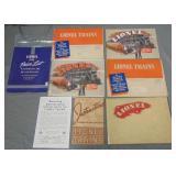 Large 1940 Lionel Paper & Catalog Archive
