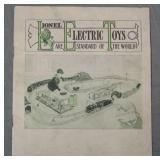 RARE Original 1914 Lionel Consumer Catalog