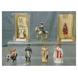 Vintage Mignot Personality Figures