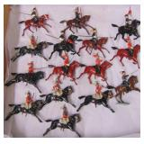 15Pc Vintage Britains Mounted Soldiers