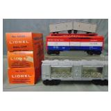 3 Clean Boxed Lionel Late Freights