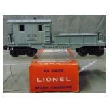 Scarce Boxed Lionel 6429 Work Caboose
