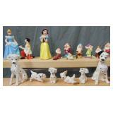 3 Sets of Japanese Disney Figurines