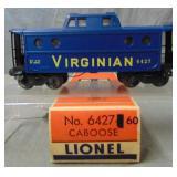 MINT Boxed Lionel 6417-60 Virginian Caboose