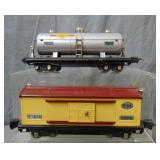 Clean Lionel 814 & 815 Freight Cars