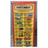 Matchbox Counter Display Full of Cars