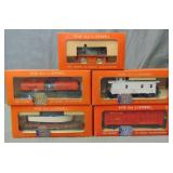 5Pc Boxed Lionel HO Group