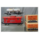 Boxed Late Lionel 815 & 817 Freight Cars