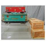 Clean Boxed Lionel 816 & 817 Freight Cars