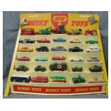 Rare 32 Vehicle Dinky Toys Store Display