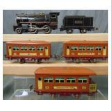 Clean Lionel 257 Passenger Set