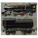 Clean Lionel 260E Steam Loco
