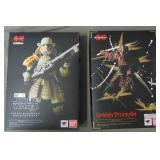 2 Boxed Bandai Action Figures