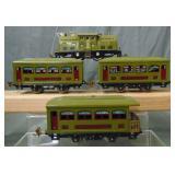 Clean Lionel 252 Passenger Set