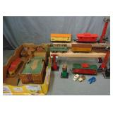 Misc Trains And Accessories Lot
