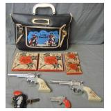 Assorted Vintage Western Toys
