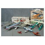 7 Assorted Toy Airplanes