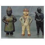 3 Vintage Figural Iron Still Banks