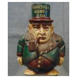 Nice Vintage Harper Transvaal Money Box