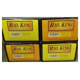 MTH RailKing 30-6244 4pc NPR Pass Cars