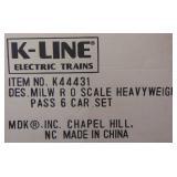 K-Line K44431 6-Car MILW Heavyweights