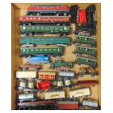 Large Group Vintage Marklin HO Trains