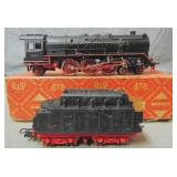 Boxed Marklin HO HR800 Steam Locomotive