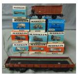 12pc Vintage Marklin HO Rolling Stock, 10 Boxed