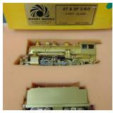 Sunset O Scale Brass AT&SF Mikado