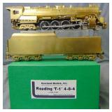 Overland O Scale Brass Reading T1