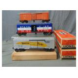 3 Nice Lionel Boxcars, 2 Boxed