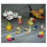 Wind Up Tin Toy Lot