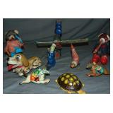 Assorted Tin Lithograph Toy Lot