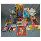 Box Lot of Vintage Rack Toys