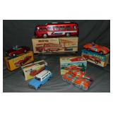 Lot of (5) Boxed Friction Toys