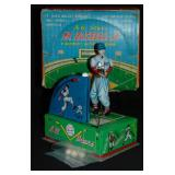 Boxed Battery Op Mr. Baseball Jr, Japan