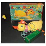 Boxed R/C Battery Op Snoopy Quacky Duck, Japan